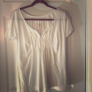 Eddie Bauer white t-shirt M